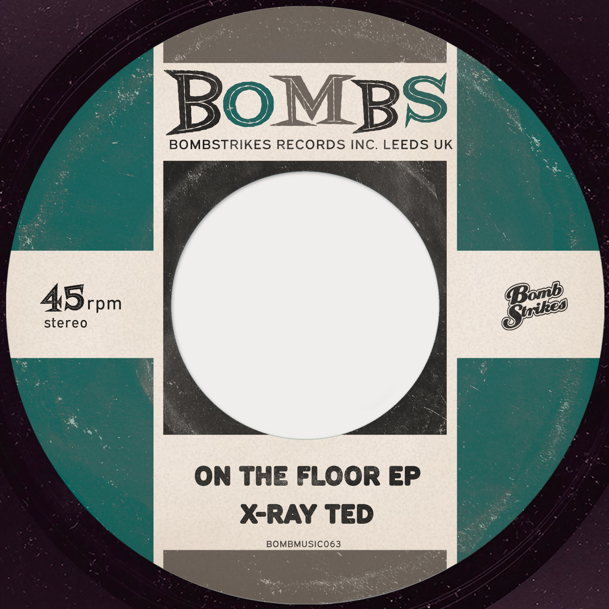X-Ray Ted - On the Floor EP Image