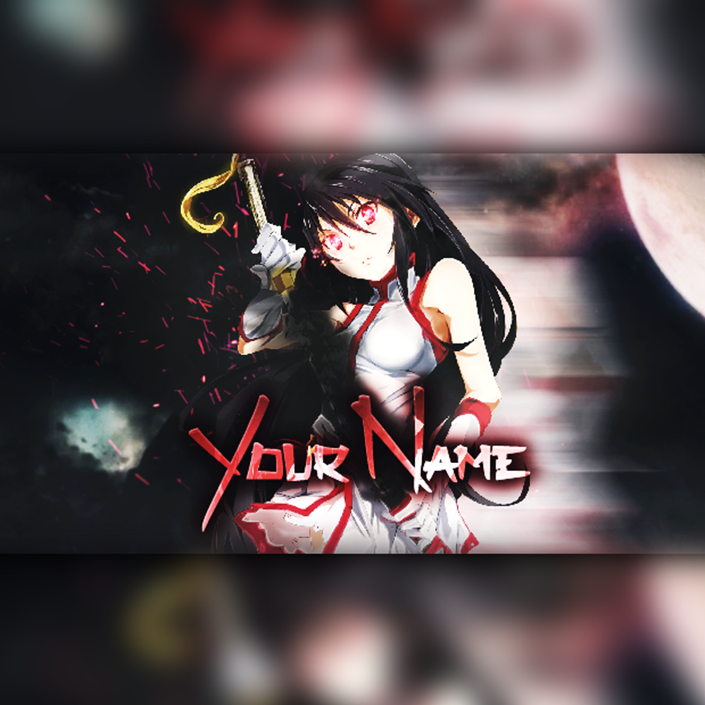 Anime banner template 01 by pyor free download on toneden
