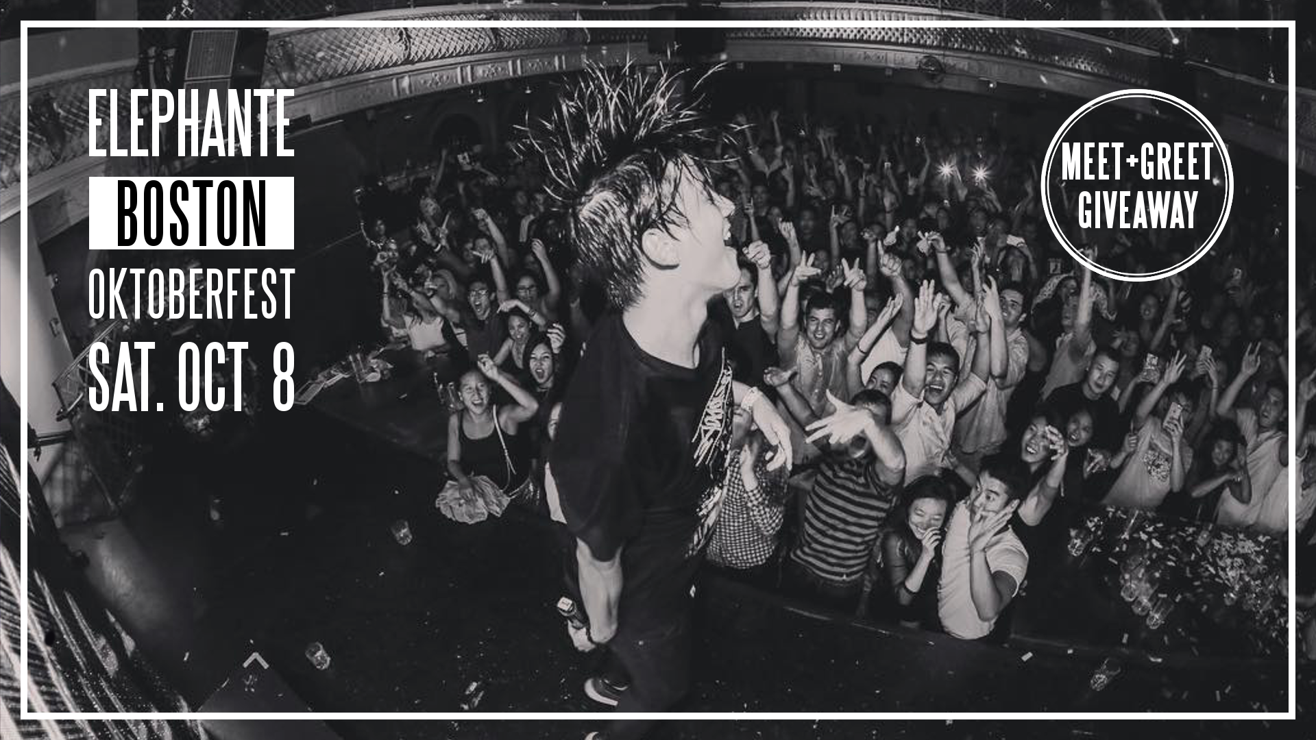 Win 2 Tickets And A Meet Greet To Elephantes Boston Show Enter