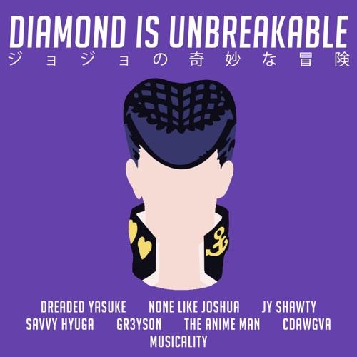 JoJo Rap Diamond Is Unbreakable (feat. The Anime Man, CDawgVA, more) prod. Musicality Image