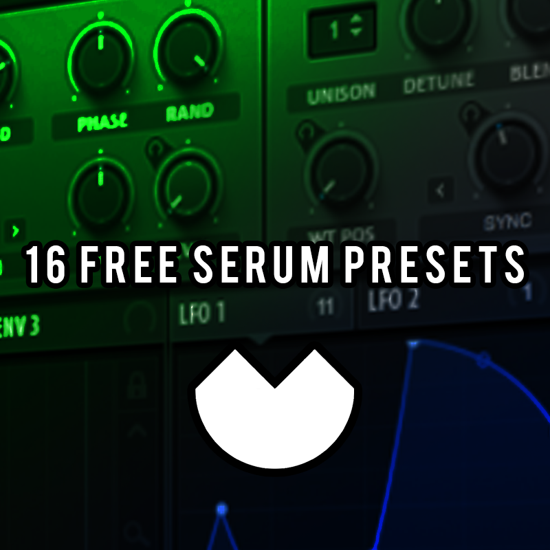 16 free serum presets by Wolfam - Free download on ToneDen