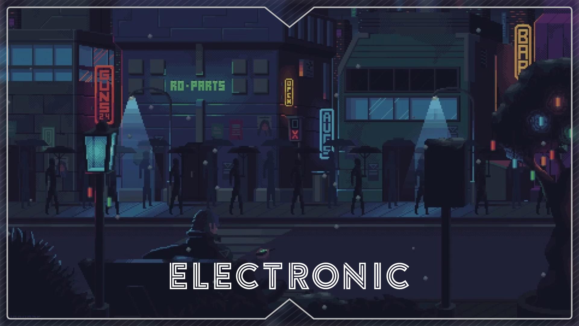 Video Wallpaper Engine Pixel Street Night Animated