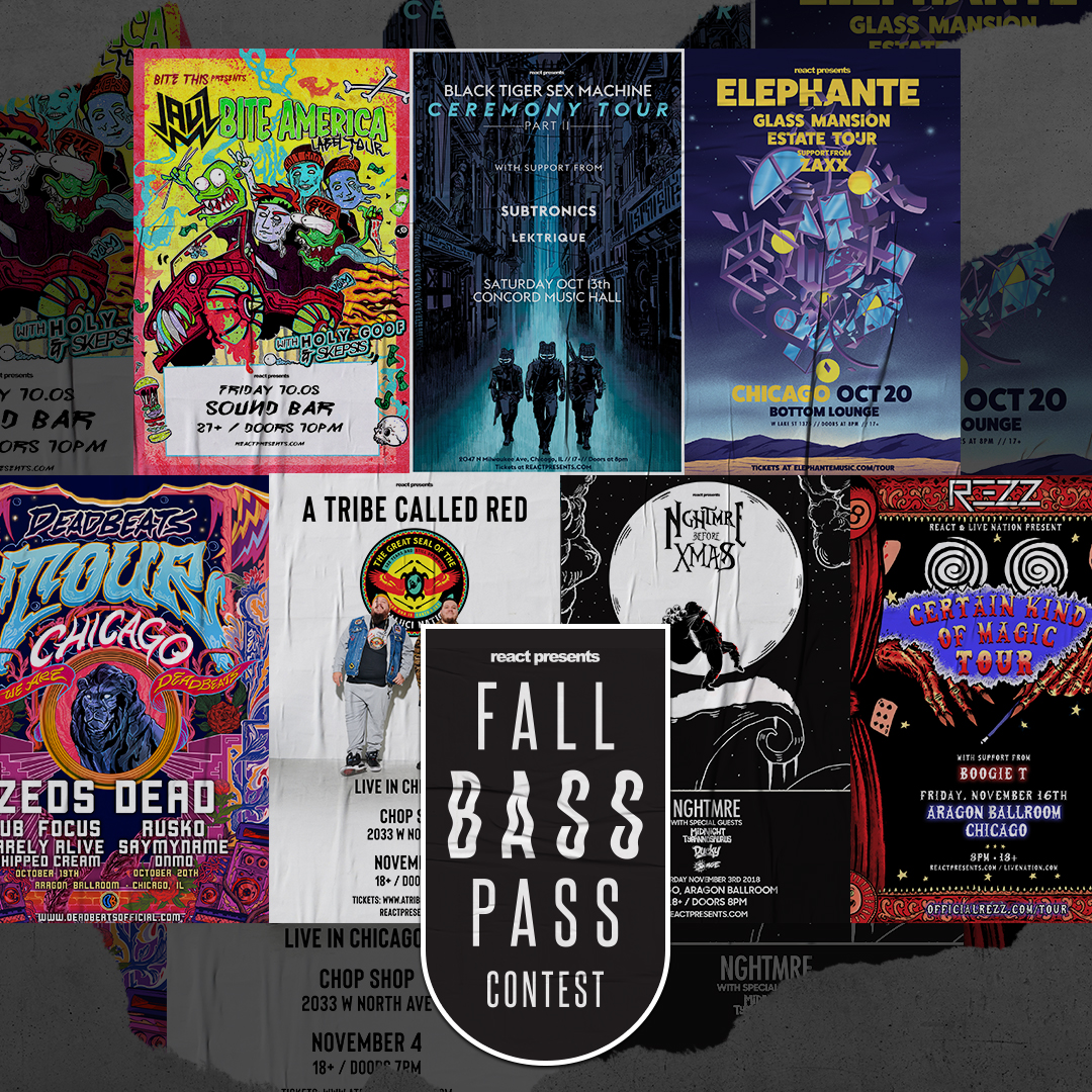 CONTEST: Chicago Fall Bass Pass – Win Tickets to 8 Shows