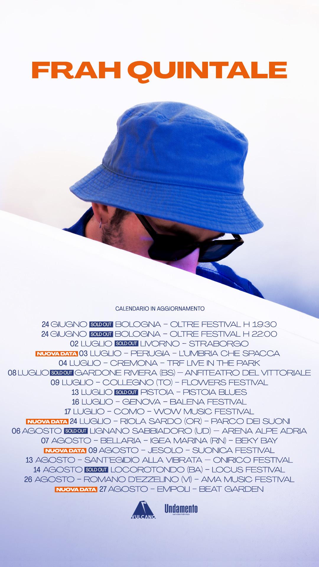Frah Quintale - Banzai Tour (ESTATE 21) Image