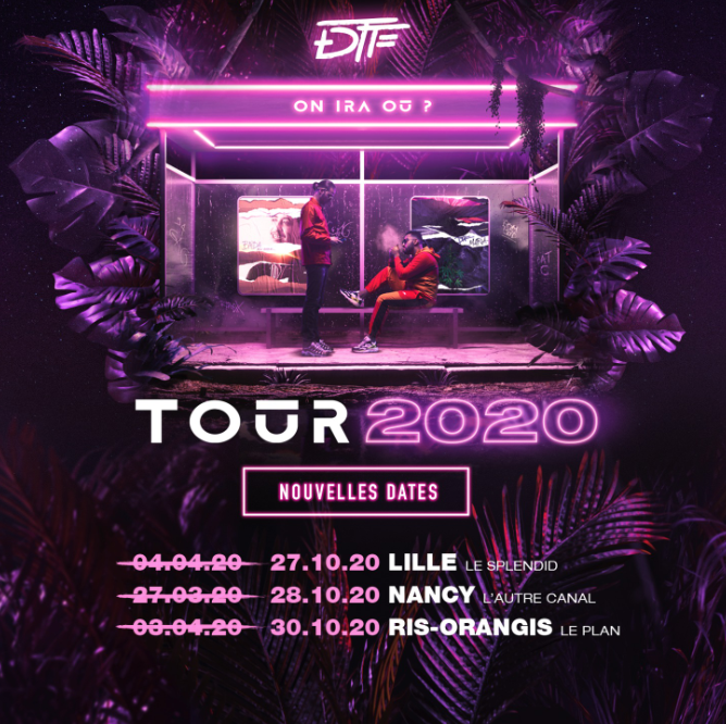 DTF - TOURNÉE 2020 Image
