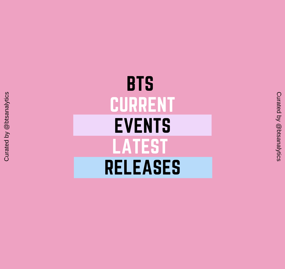 BTS: Current Events & Latest Releases   BigLink