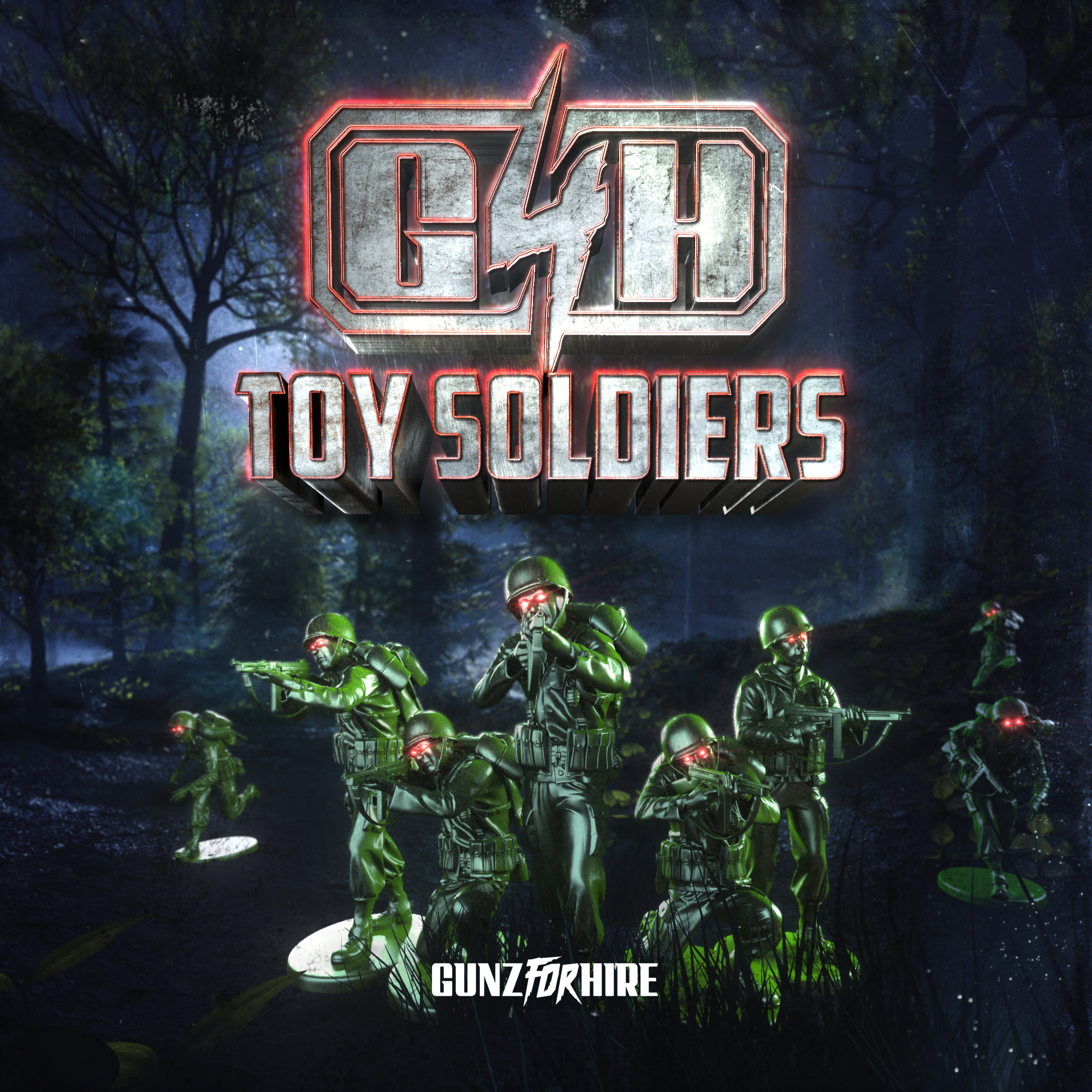 GUNZ FOR HIRE - TOY SOLDIERS Image