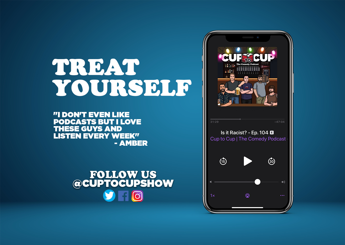 Cup To Cup | The Comedy Podcast Image