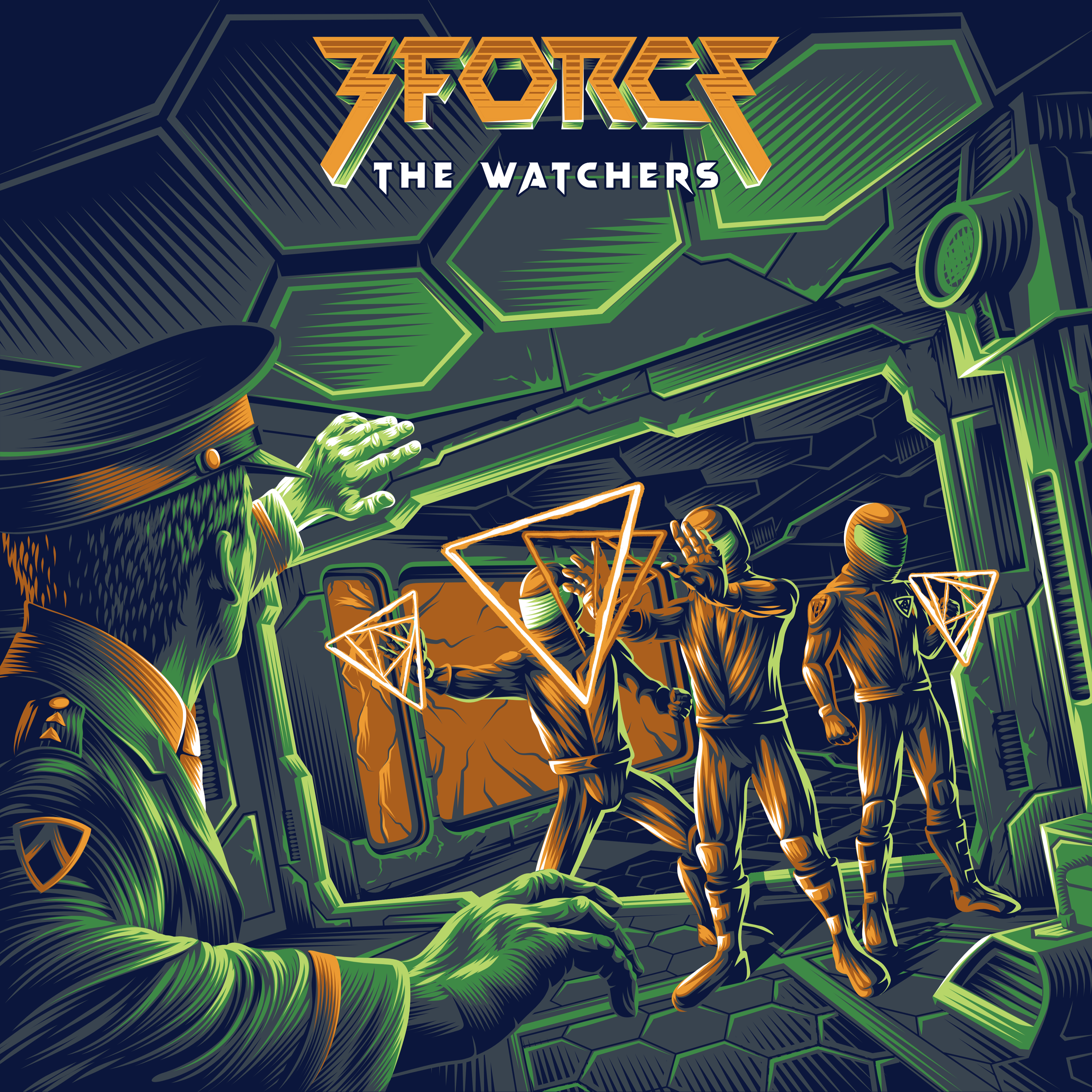 3FORCE - The Watchers (Single) Image