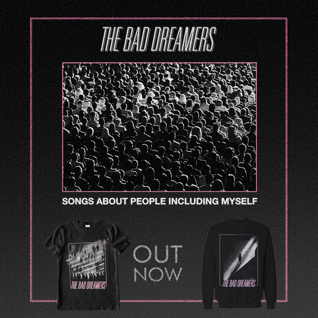 The Bad Dreamers - Songs About People Including Myself  Image