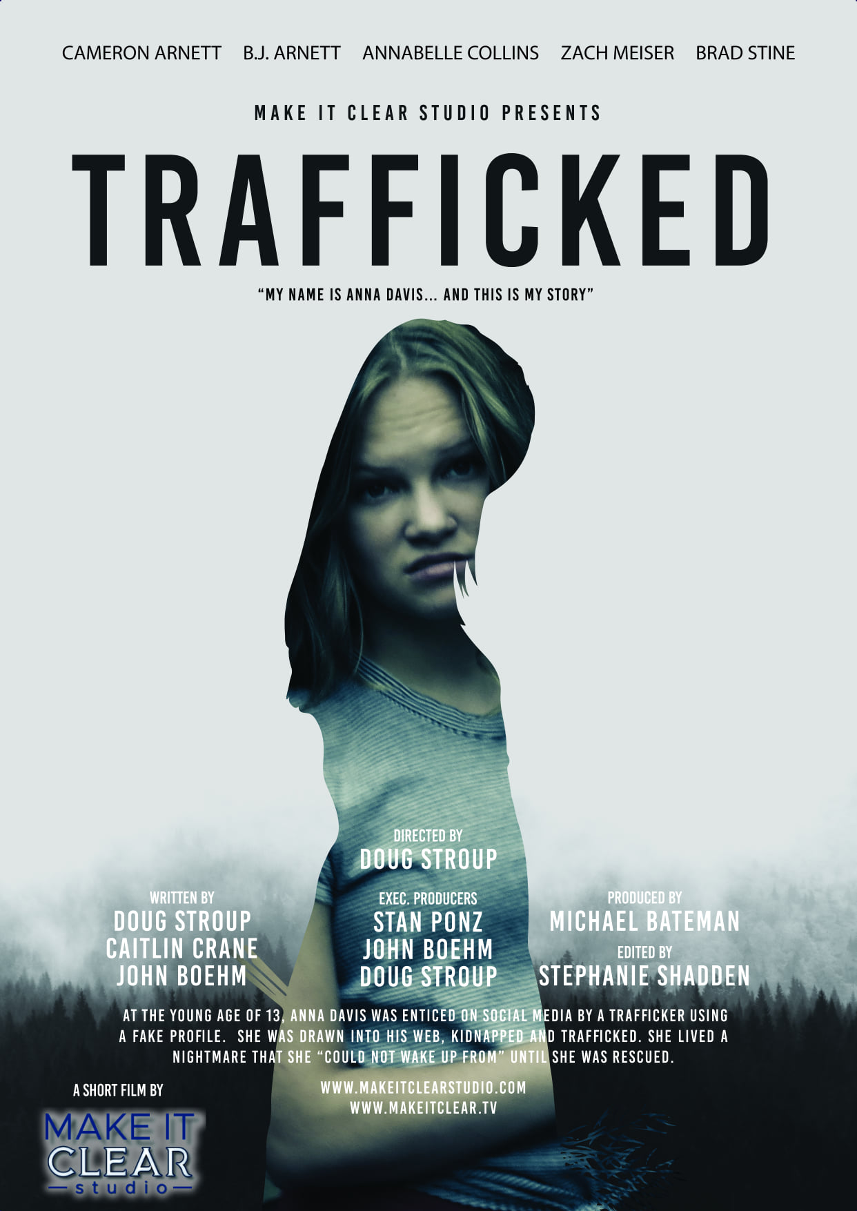 Trafficked Movie on DVD  Logo