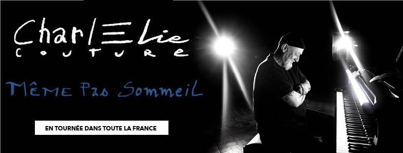 """CharlElie Couture """"Même pas sommeil"""" Tour Image"""