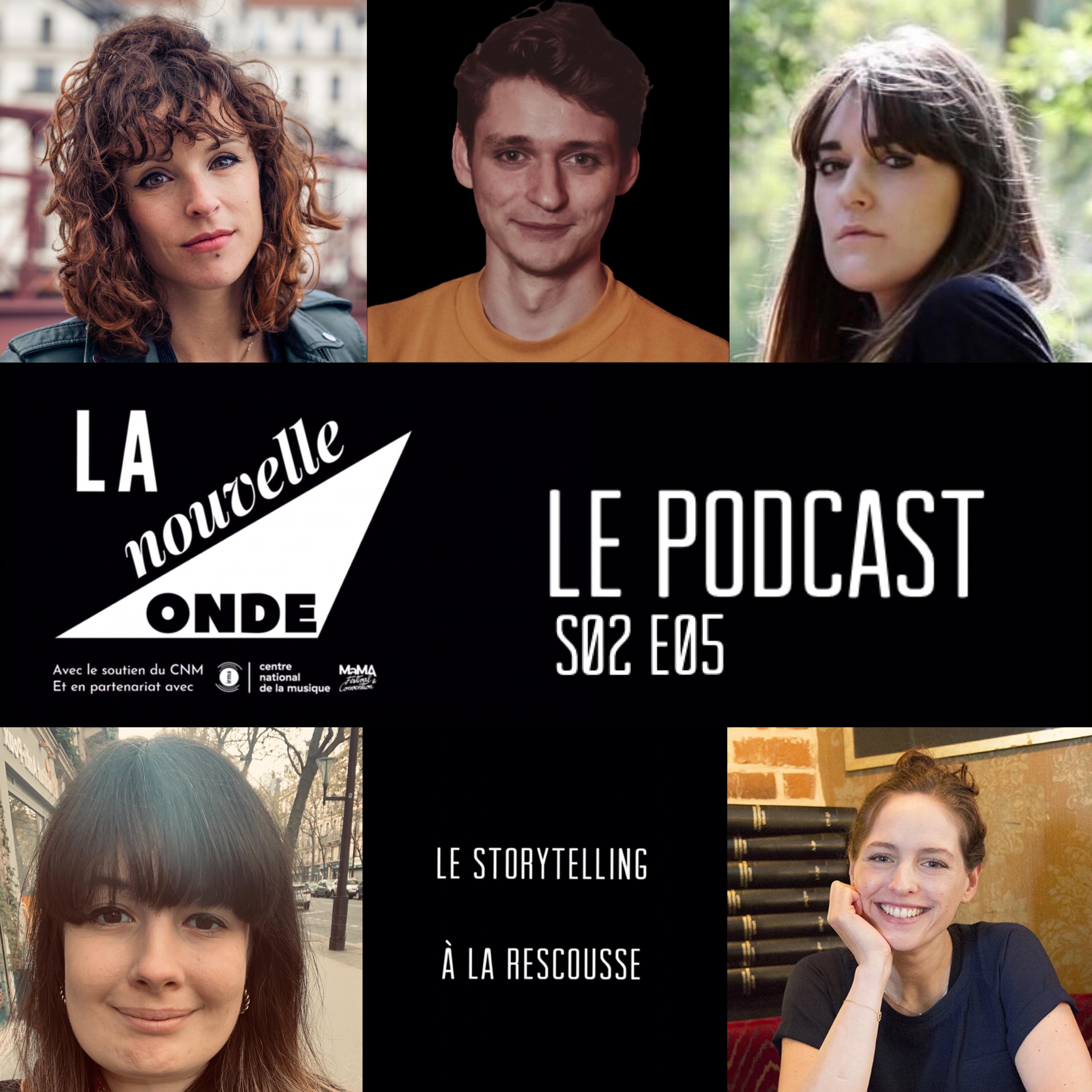 Podcast LNO S02 E05 - Le storytelling à la rescousse Image