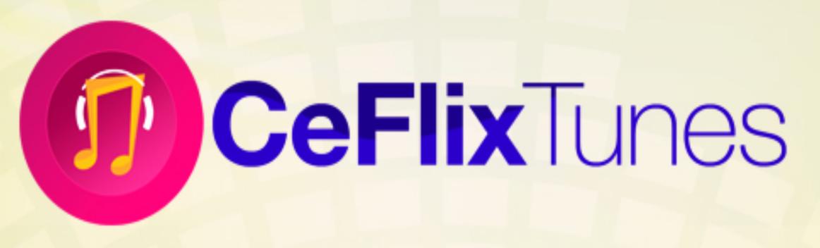 Ceflix Tunes Logo