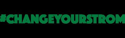 #changeyourstrom Logo