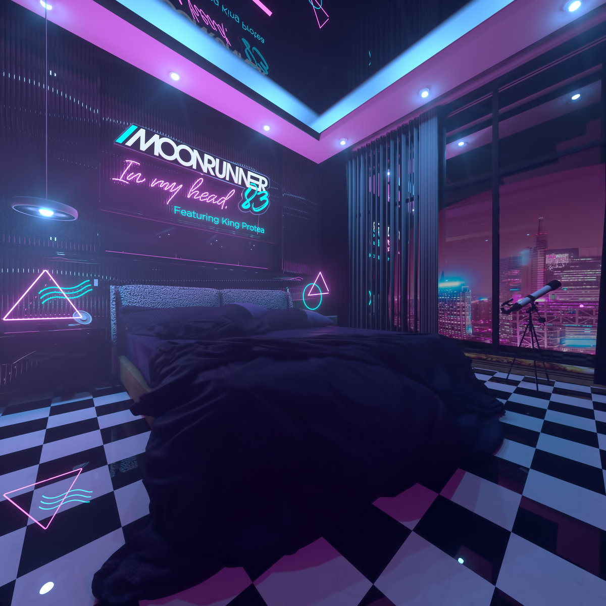 Moonrunner83 - In My Head (feat. King Protea) [Single] Image