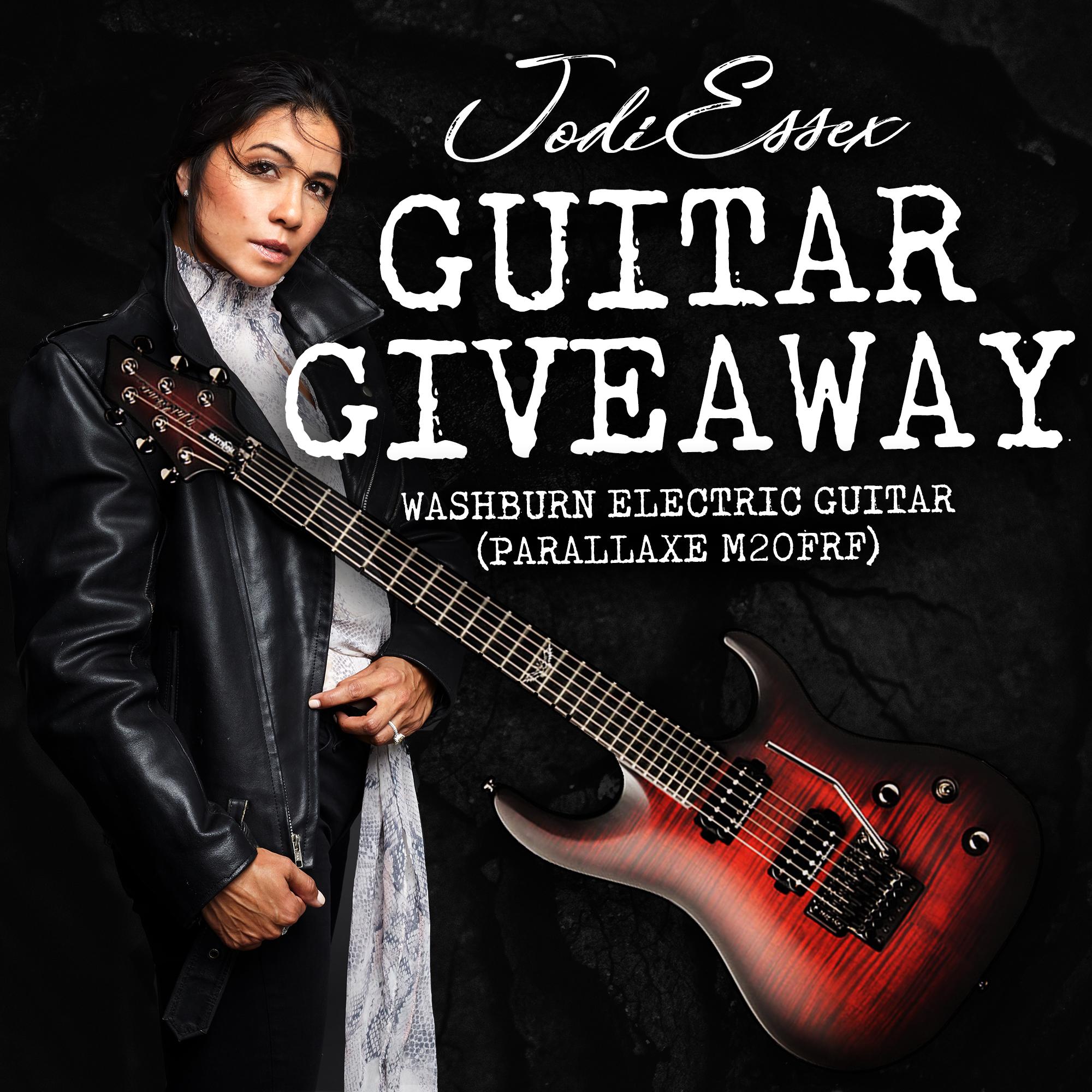 Jodi Essex - Guitar Giveaway