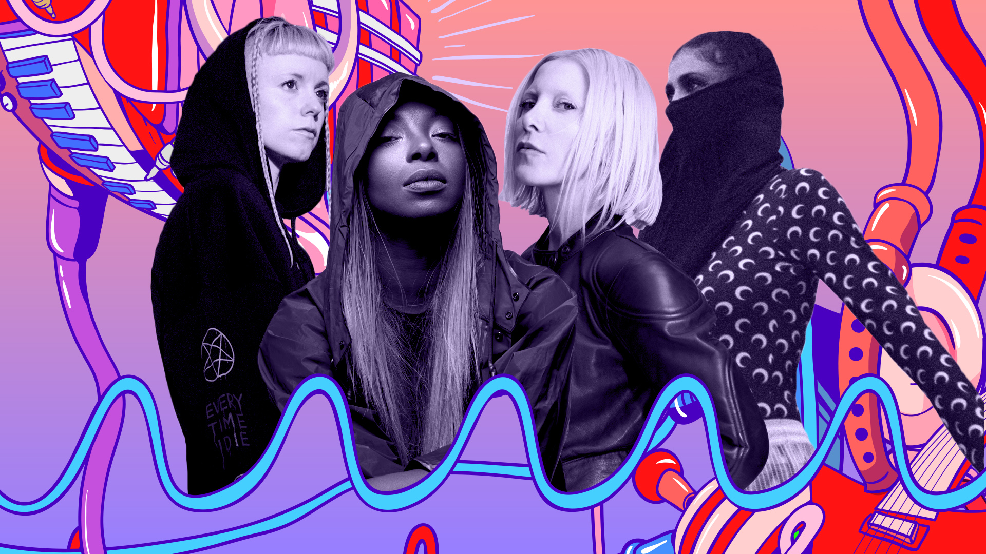 I forgot to hit 'record' with Afrodeutsche, Ellen Allien, Catnapp, Mentrix  Image