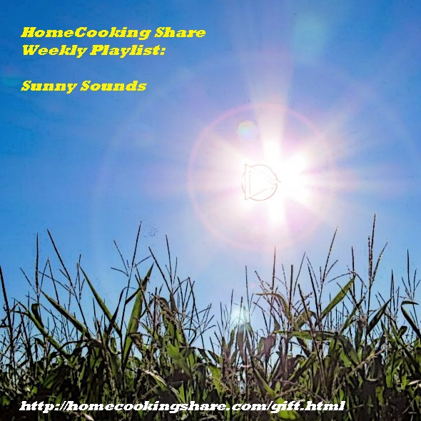 HomeCooking Share - Gift weekly Playlist Sunny Sounds Image