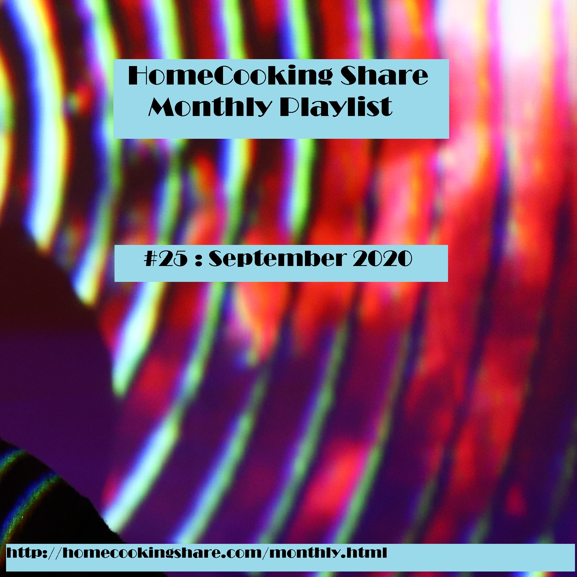 HomeCooking Share Monthly Playlist #25 : September 2020 Image