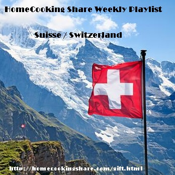 HomeCooking Share Weekly Playlist : 23/07 - SUISSE Image