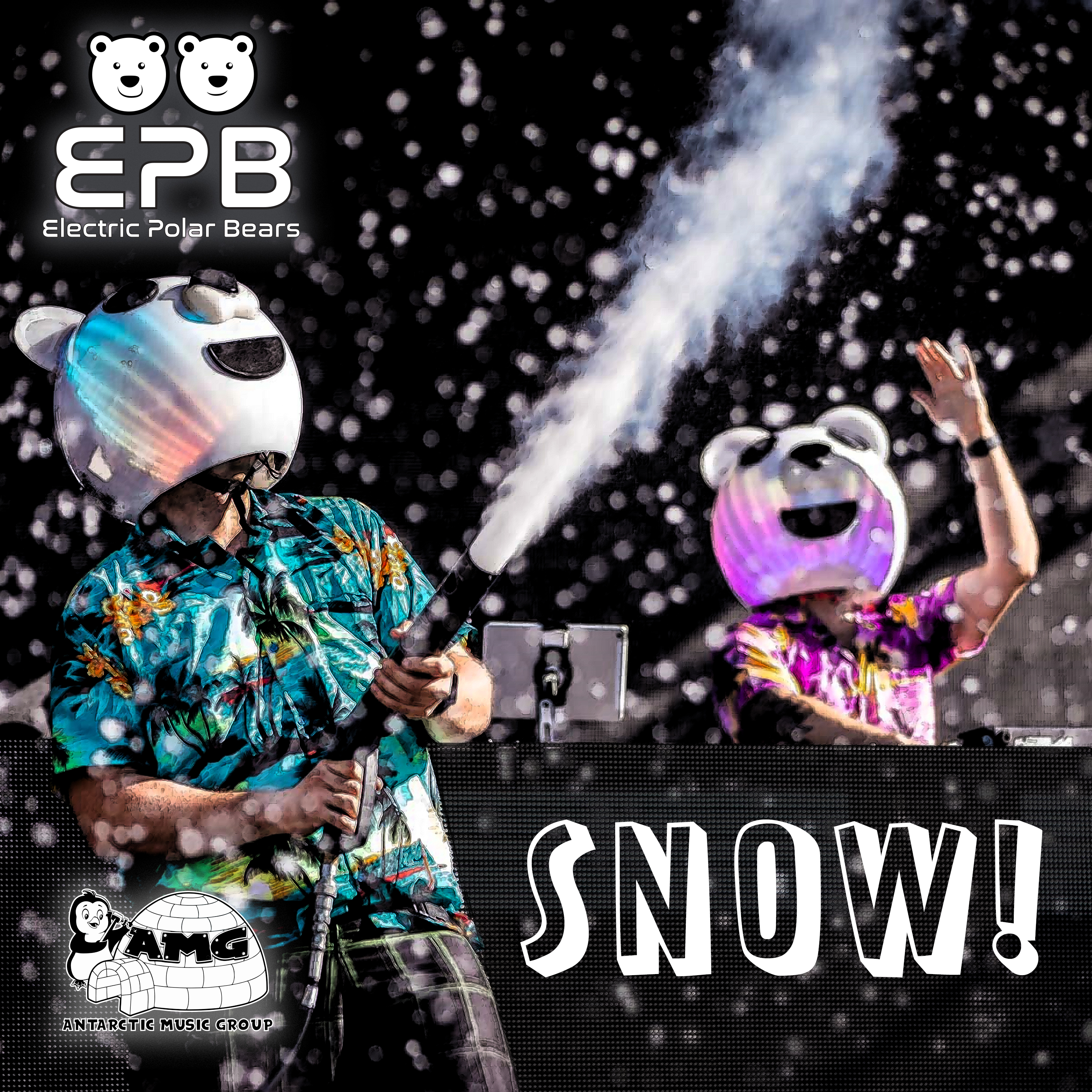 Electric Polar Bears - SNOW Image