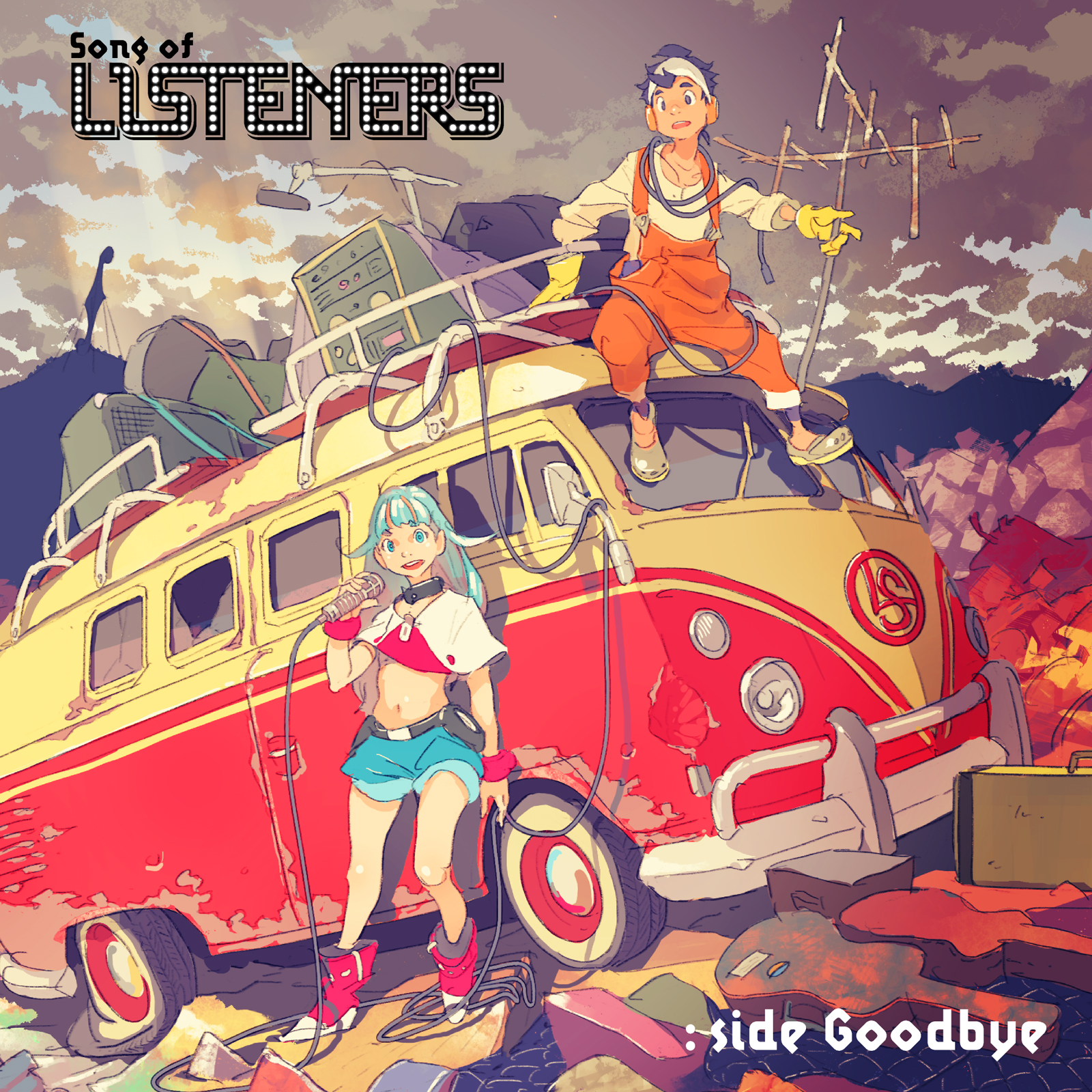Song of LISTENERS : side Goodbye Image