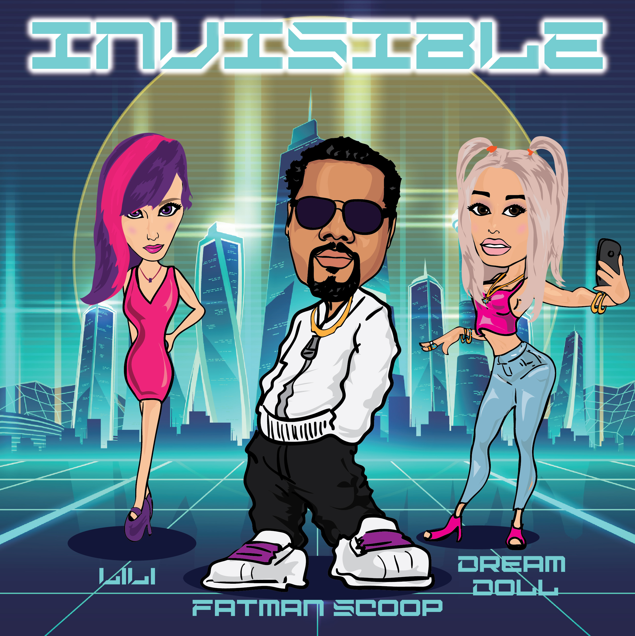 INVISIBLE (Clean version) Image