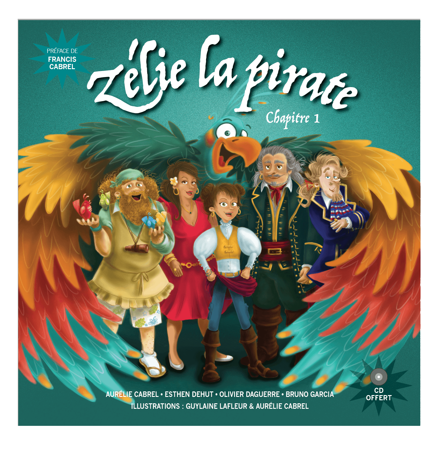 Site de Zélie la pirate  Logo