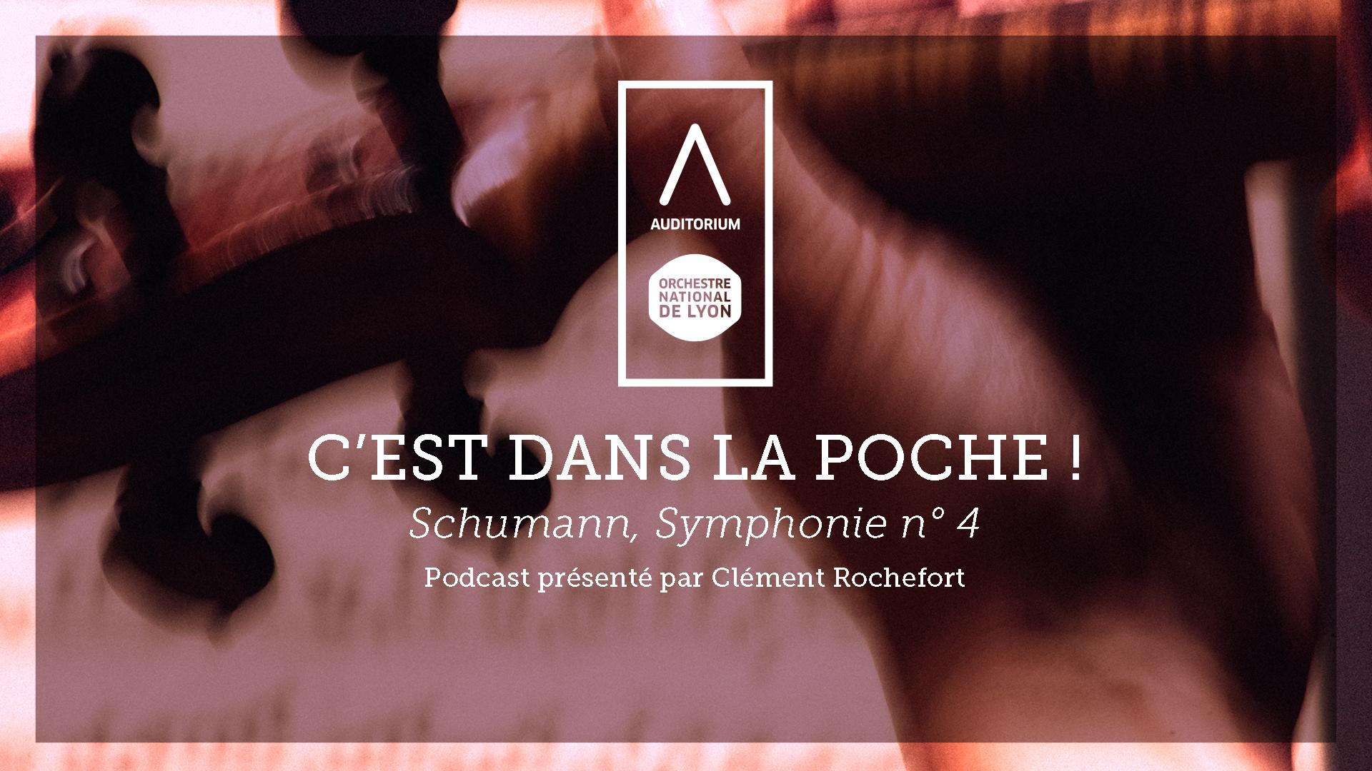 👇 Abonnez-vous à C'est dans la poche ! 📲 Le podcast de l'Auditorium-Orchestre national de Lyon Image