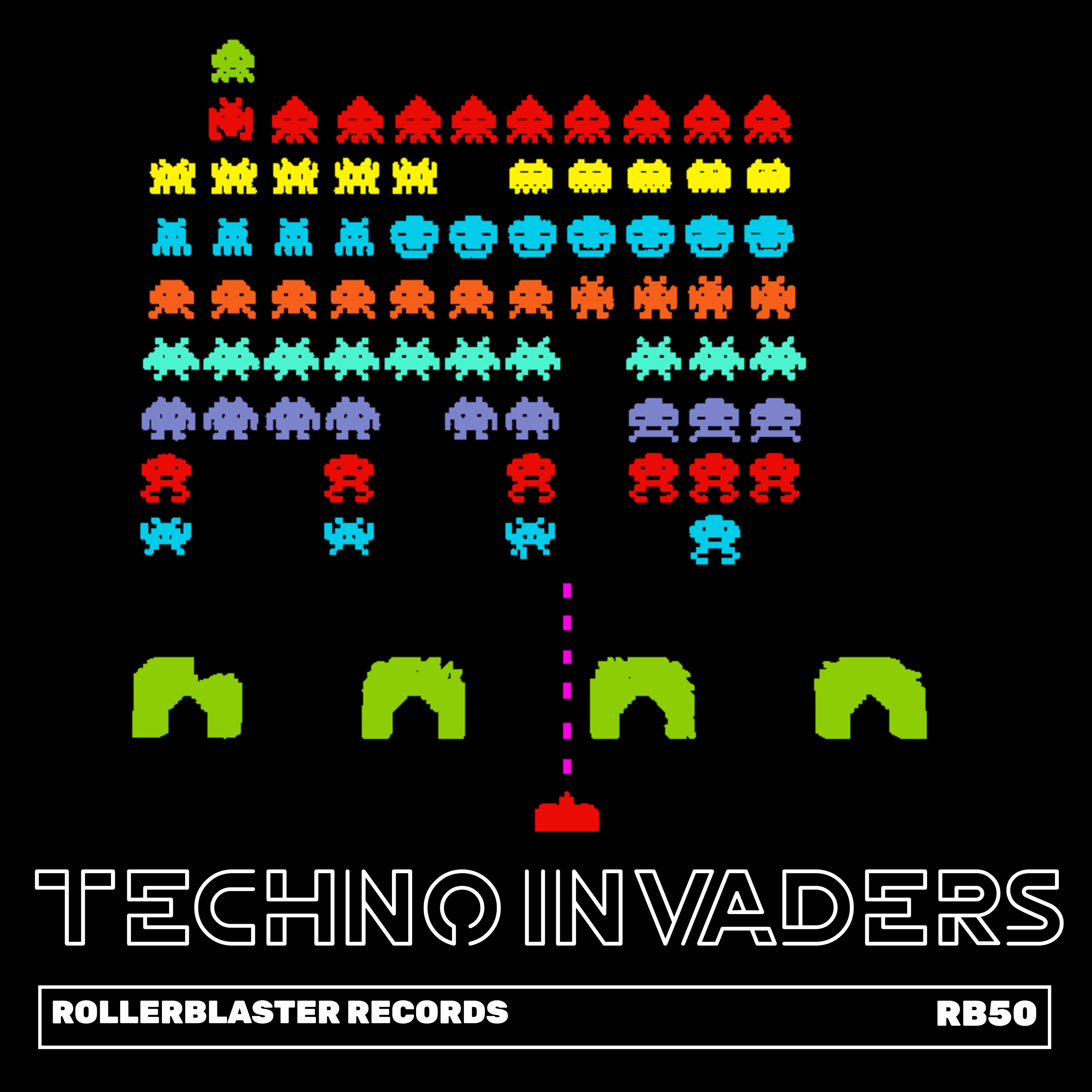 Techno Invaders Image
