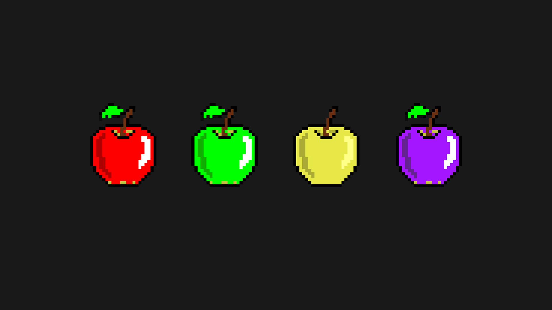 Four Color Apple Image