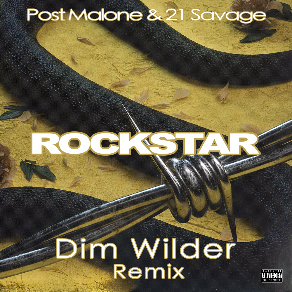 Post Malone - Rockstar ft  21 Savage (Dim Wilder Remix) by