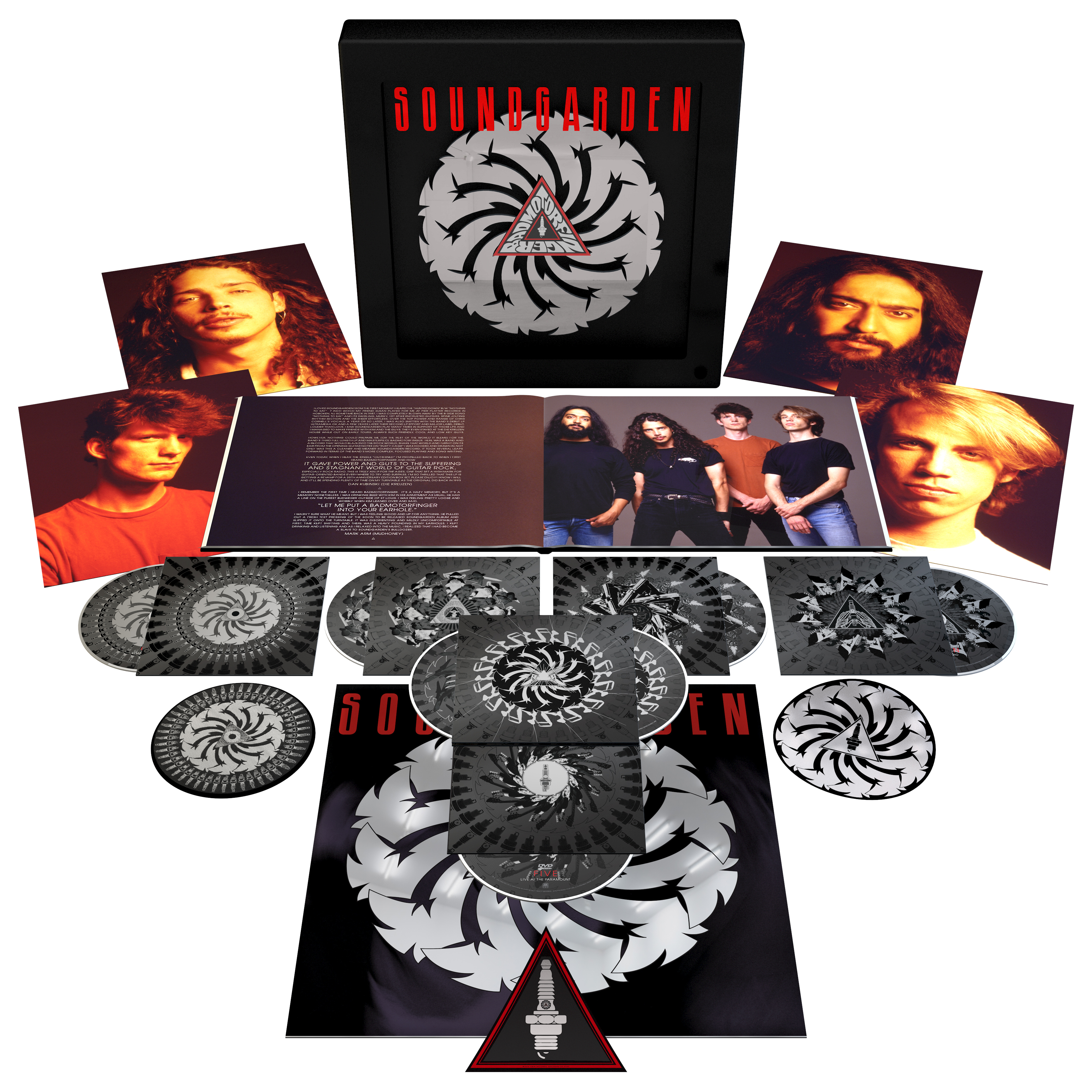 Gallery images and information soundgarden badmotorfinger tattoo - To Celebrate The Anniversary Of Soundgarden S Third Studio Album 1991 S Badmotorfinger The Album Will Be Reissued On November 18th As An Extensive