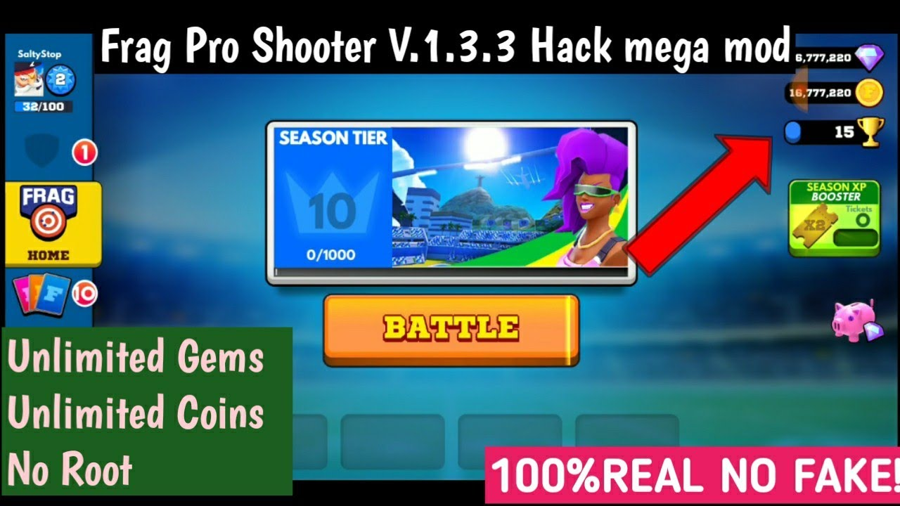 FRAG Pro Shooter Hack Cheats-Tool [2020-21] Unlimited Diamonds Free in FRAG Pro Shooter