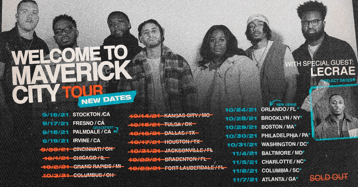 Welcome To Maverick City Tour Image