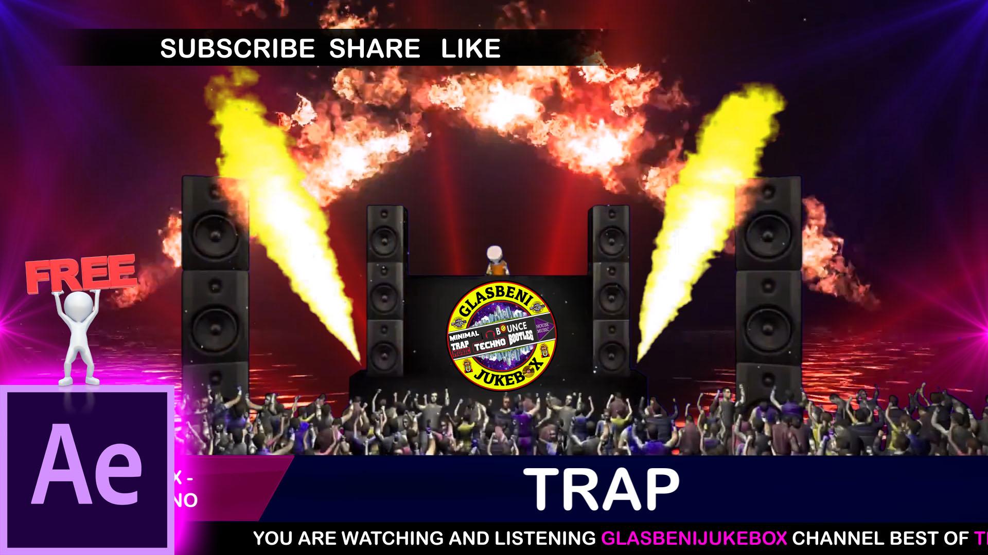 Free Audio React Template By Glasbeni JukeBoX