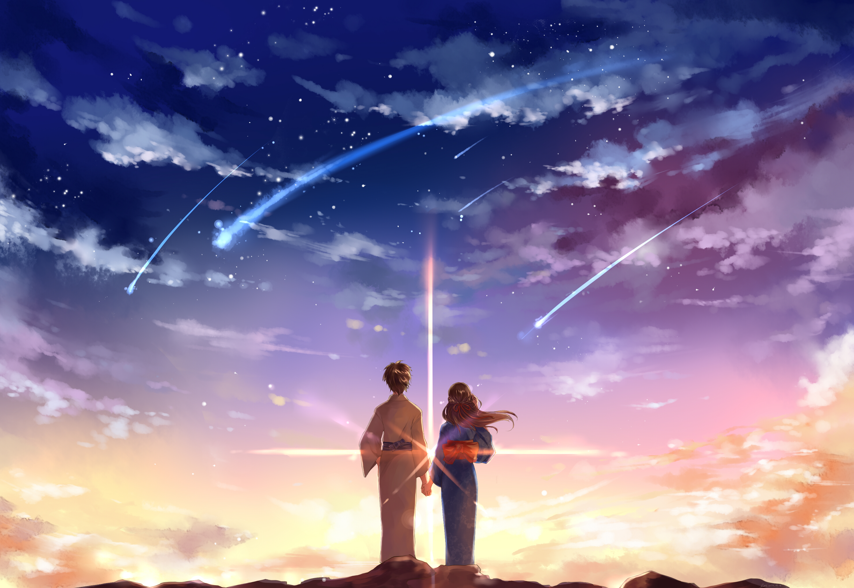 Thinking bout you wallpaper Your Name by ღ Morbid Nightcore