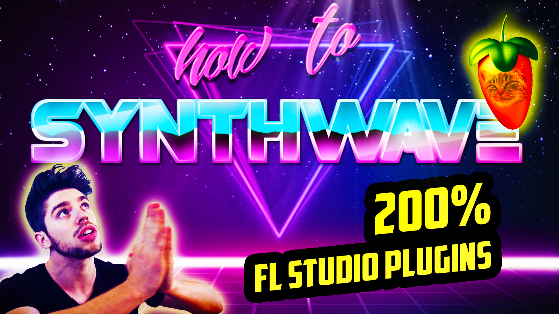 SYNTHWAVE WITH FL STUDIO PLUGINS ONLY (FLP) by EDWAN - Free