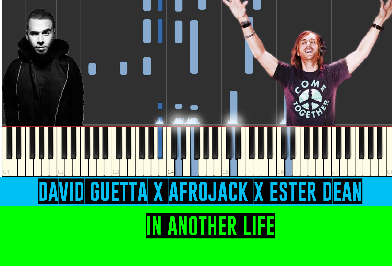 Afrojack x David Guetta x Ester Dean - Another Life - Piano Tutorial