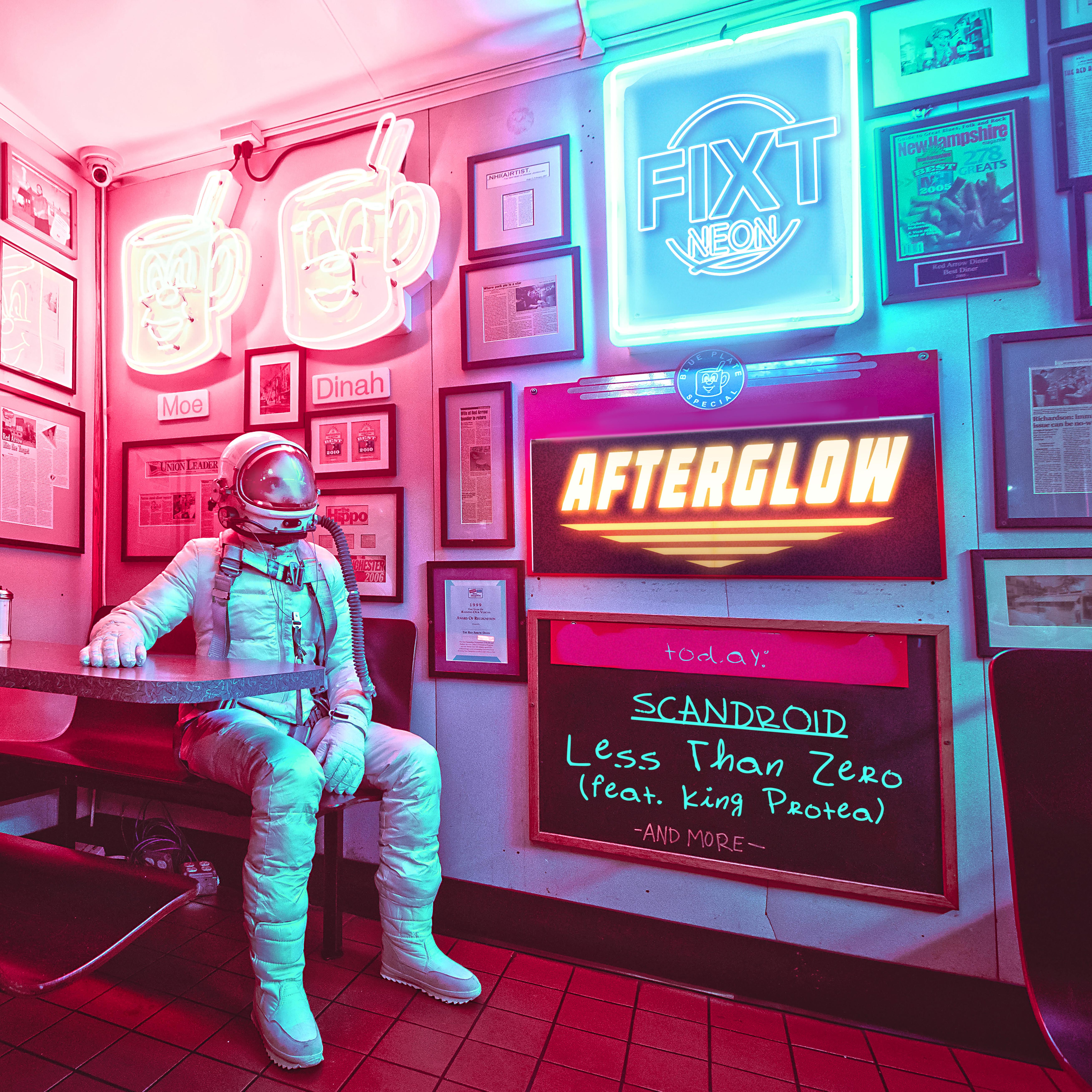Scandroid - Less Than Zero (feat. King Protea) [Single] Image