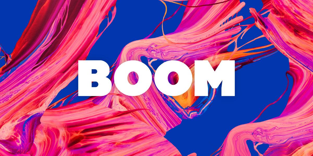 VK BOOM Logo