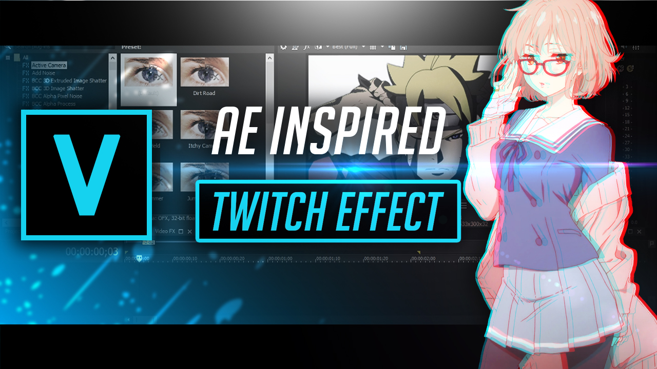Twitch Effect Vegas Pro 15 by Pro Edits - Free download on